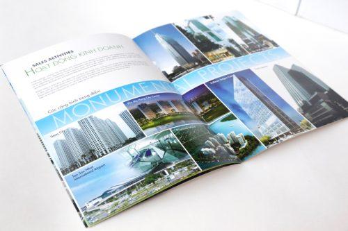 Mẫu catalog dự án bất động sản