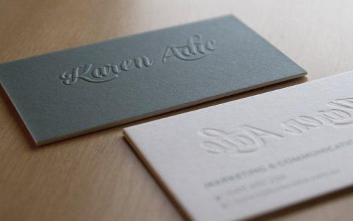 In card visit đẹp cho doanh nghiệp