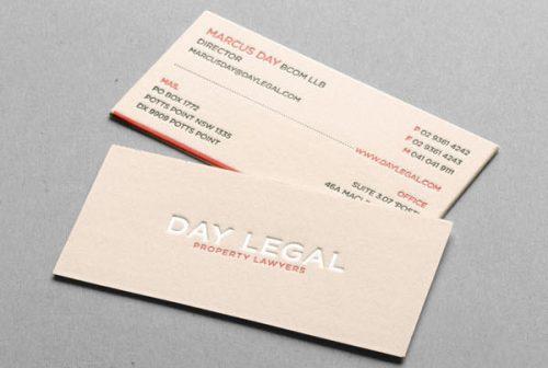 In card visit dep cho doanh nghiep