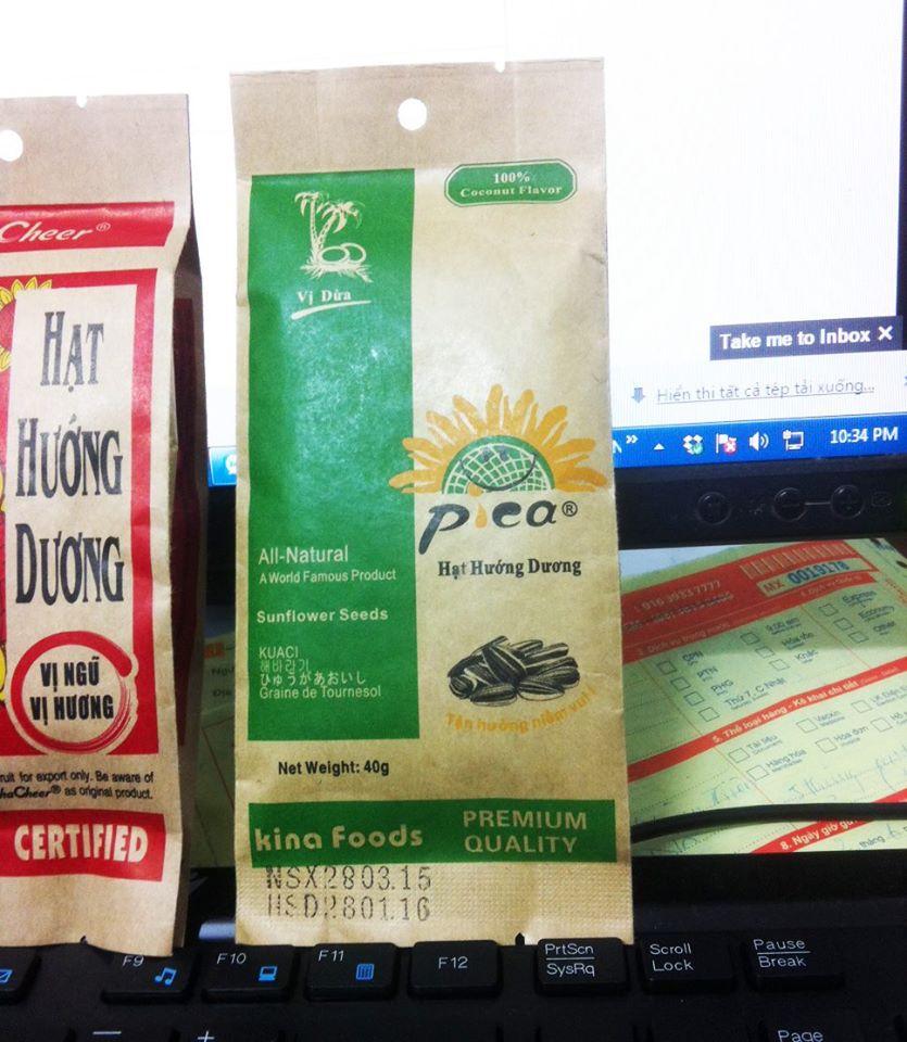Mẫu túi giấy đựng thực phẩm đồ ăn đẹp