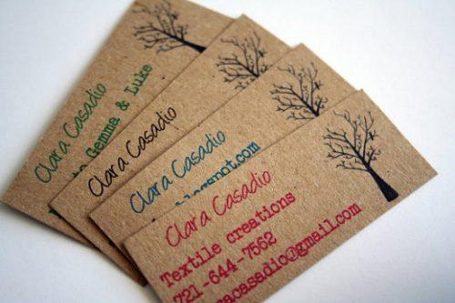 In card visit cho shop bán đồ handmade