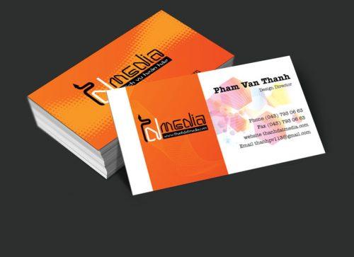 Card visit đẹp cho doanh nghiệp