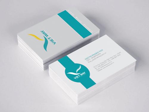 Card visit đẹp giá rẻ cho nhân viên kinh doanh
