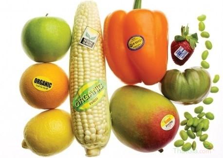 Tem dán hoa quả trái cây Việt sạch