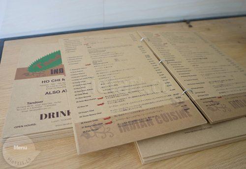 In menu đẹp cho quán trà sữa, đồ uống, đồ ăn vặt