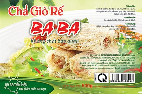 In nhãn thực phẩm đẹp giá rẻ tại Hà Nội