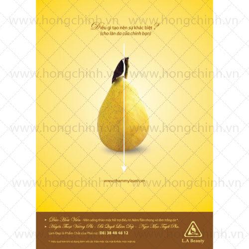 in poster quảng cáo nhanh giá rẻ Hà Nội