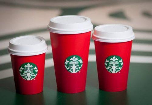 Tem dán cốc cafe đẹp