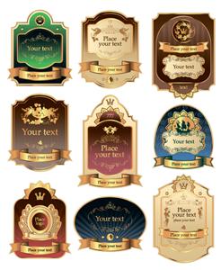 Các mẫu tem nhãn rượu ngoại cao cấp đẹp ấn tượng