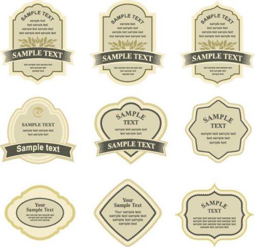 Thiết kế mẫu nhãn rượu ngoại cao cấp đẹp