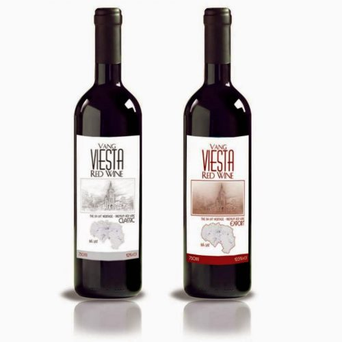 Mẫu nhãn rượu đơn giản đẹp mắt - in nhãn rượu giá rẻ Hà Nội