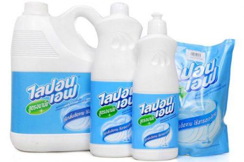 In tem nhãn nước rửa chén Thái đẹp giá rẻ