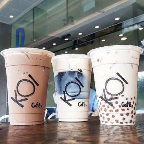 In tem nhãn trà sữa đẹp - Đầu tư thương hiệu thông minh