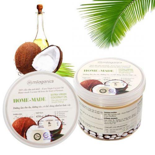 In tem nhãn tinh dầu dừa nguyên chất đẹp giá rẻ